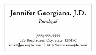 Paralegal business cards business card printing zazzle ca basic paralegal business card colourmoves