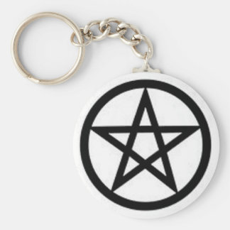 Basic Pentagram Keychain