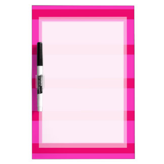 BASIC PINK STRIPES BACKGROUND DRY DRYERASEBOARD