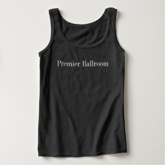 Basic Premier Ballroom Tank Top- Black