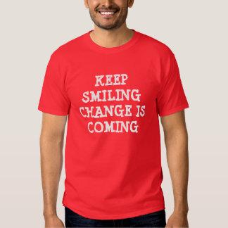 Basic Red T-Shirt, Change is Coming Admiro Design Shirt