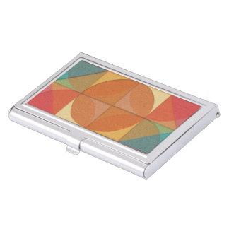 Basic shapes business card holder