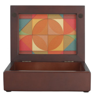 Basic shapes keepsake box
