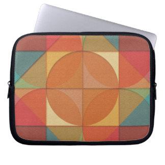 Basic shapes laptop sleeve