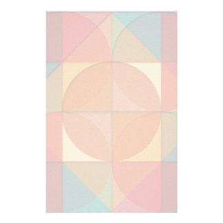 Basic shapes stationery