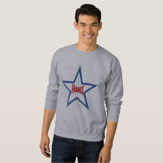 BASIC   SWEAT SHIRT   STAR FRANCE