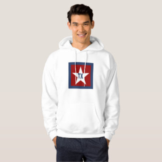 BASIC SWEAT WITH HOOD   TEXAS HOODIE