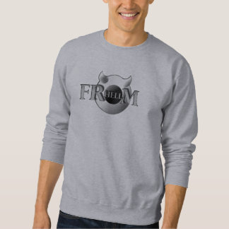 Basic sweater shirt for man FRHELLM, gray