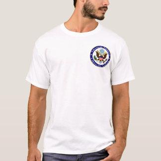 Basic t-shirt; Emb LBV; We deserve danger pay T-Shirt