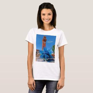 Basic t-shirt featuring Murano's Cometa d'Oro