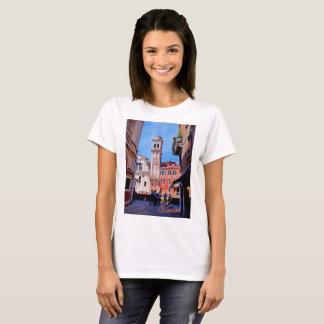 Basic t-shirt featuring Venetian church