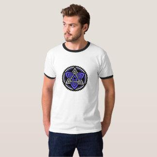 Basic T-shirt for man. Black target/