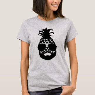 "Basic T-shirt ""HIPSTER PINEAPPLE """