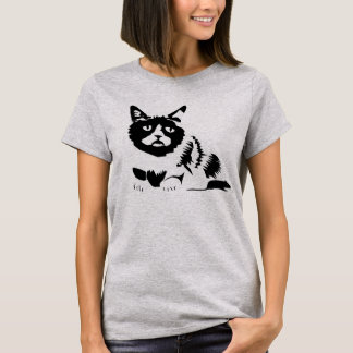 "Basic T-shirt ""KATZ AND MOUSE """