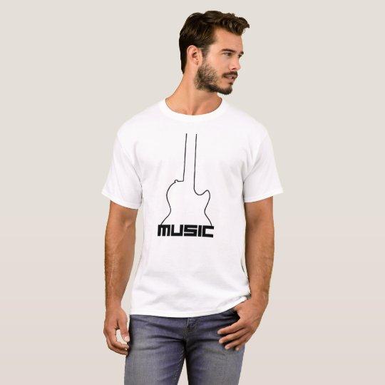 Basic t-shirt - MUSIC