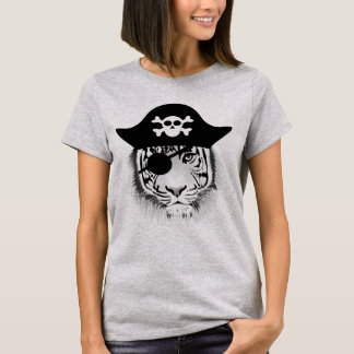 "Basic T-shirt ""TIGER PIRATE """