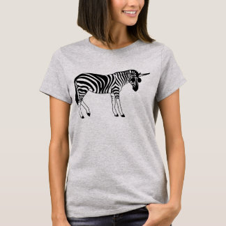 "Basic T-shirt ""UNICORN ZEBRA """