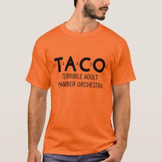 Basic TACO T-Shirt, Orange and Black T-Shirt