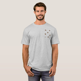 "Basic tee-shirt clearly ""Poop "" T-Shirt"