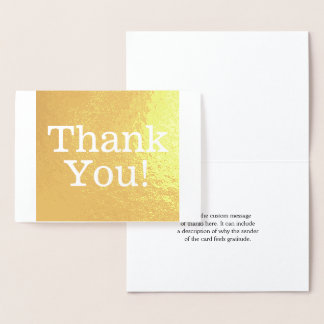 "Basic ""Thank You!"" Card"