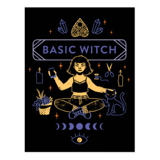 Basic Witches - Camille Chew Postcard