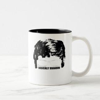 Basically Brandon Logo Mug