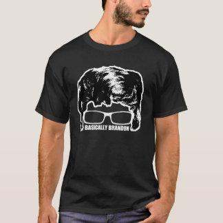Basically Brandon Logo T-Shirt! (Black) T-Shirt