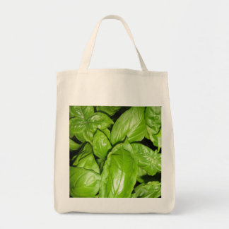 Basil Decorated Tote