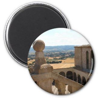 Basilica di San Francesco 2 Inch Round Magnet