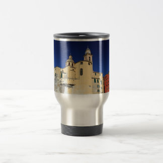 Basilica in Camogli Travel Mug