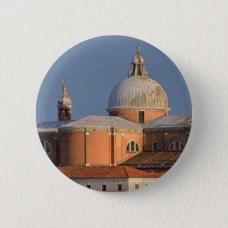 Basilica in Venice in Italy 2 Inch Round Button
