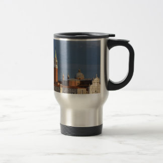Basilica in Venice in Italy Travel Mug