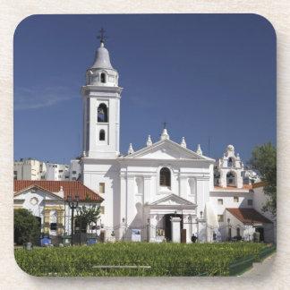 Basilica Nuestra Senora del Pilar in Recoleta 2 Beverage Coasters