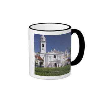 Basilica Nuestra Senora del Pilar in Recoleta Ringer Coffee Mug