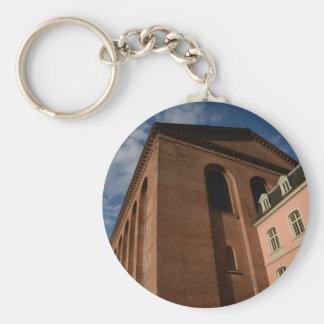 Basilica Of Constantine In Trier Basic Round Button Keychain