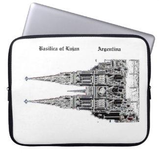 Basilica of Lujan (Pencil design) Laptop Sleeve