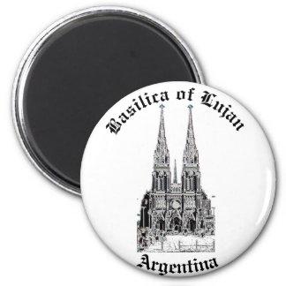 Basilica of Lujan (Pencil design) Magnet