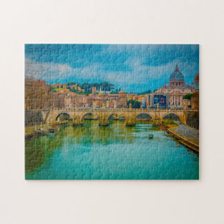 Basilica of Saint Peters Rome. Jigsaw Puzzle