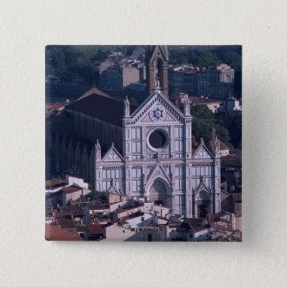 Basilica Santa Croce 2 Inch Square Button
