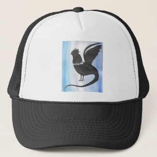 Basilisk on Blue Trucker Hat