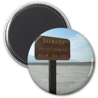 Basin, Death Valley National Park Magnet