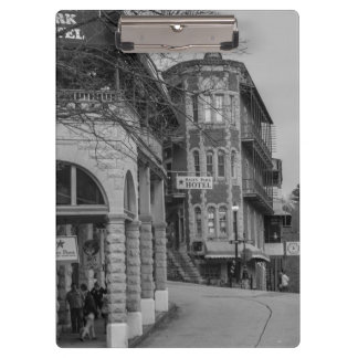 Basin Park And Flatiron Flats Grayscale Clipboards