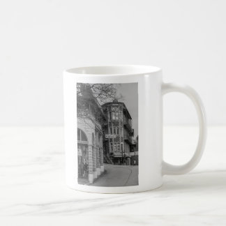 Basin Park And Flatiron Flats Grayscale Coffee Mug