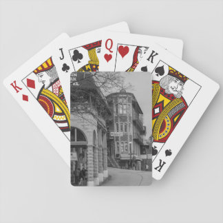 Basin Park And Flatiron Flats Grayscale Playing Cards