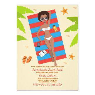 Bask In The Sun 2 Bachelorette Invitation