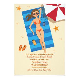 Bask In The Sun Bachelorette Invitation