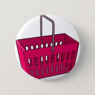 Basket 2 Inch Round Button