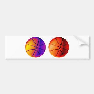 Basket-ball d'art de bruit autocollant de voiture