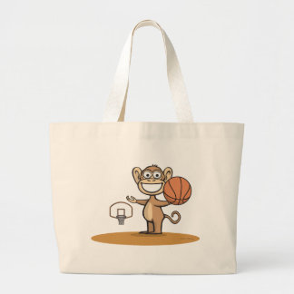 Basket-ball de singe grand sac