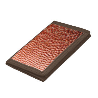 Basket Ball Foot Ball  Leather Look Trifold Wallet